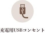 充電用USBコンセント